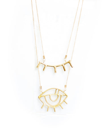 EYE LONG NECKLACE