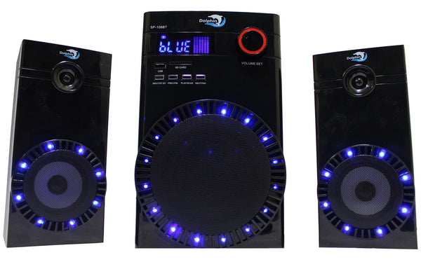 SP-108 BT - Dolphin Audio - 2.1 Multimedia Speaker party speakers - 310 audio, 310 Audio