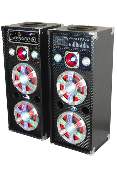 Party Speaker System - SP-61BT - Dolphin Audio - Active/Passive Pair