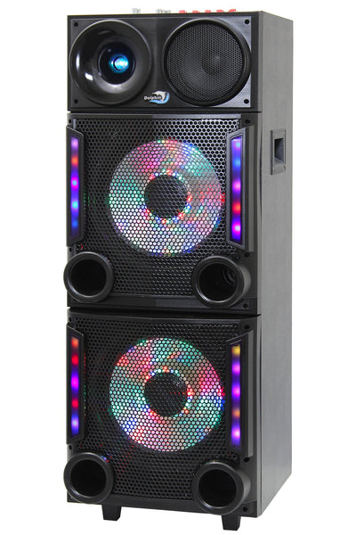 Bluetooth Party Speaker 2x12