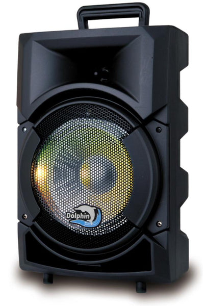 PA Speaker - Rechargeable 8 Inch Bluetooth PA Speaker System - front
