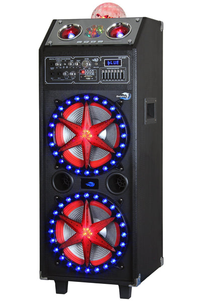 Bluetooth Party Speaker System with 2x10