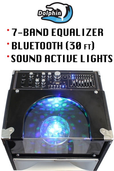 Dolphin SP-23 BT Active Party Speaker System with Lights party speakers - Dolphin Audio, 310 Audio - 2