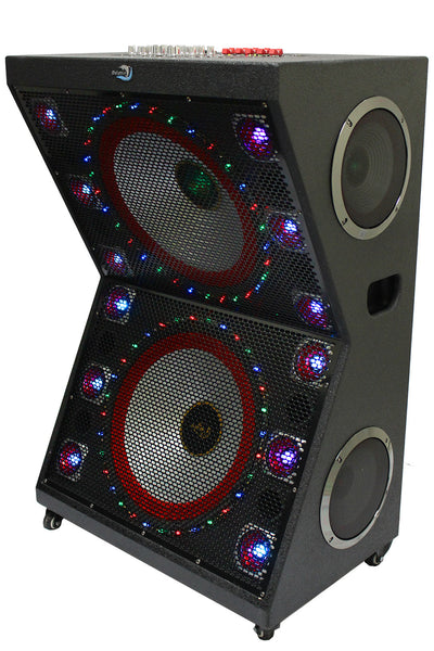 Sp 126 Bt Dolphin Audio Active Pa Dj Party Speaker With