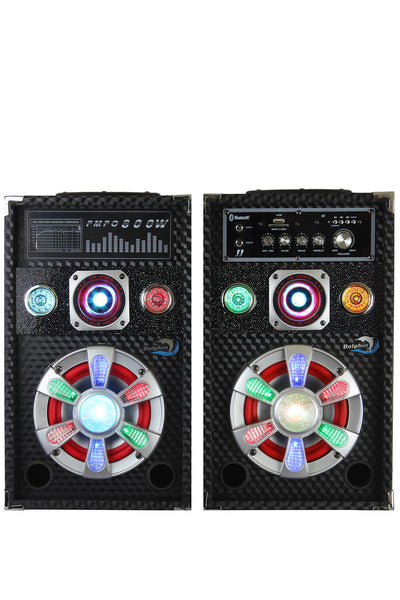 Party Speaker System SP-62BT Dolphin Audio Active/Passive Pair