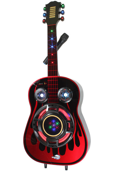 SP-77 BT - Dolphin Audio Guitar Shaped Speaker with Battery party speakers - Dolphin Audio, 310 Audio - 1