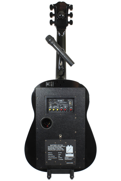 SP-77 BT - Dolphin Audio Guitar Shaped Speaker with Battery party speakers - Dolphin Audio, 310 Audio - 2