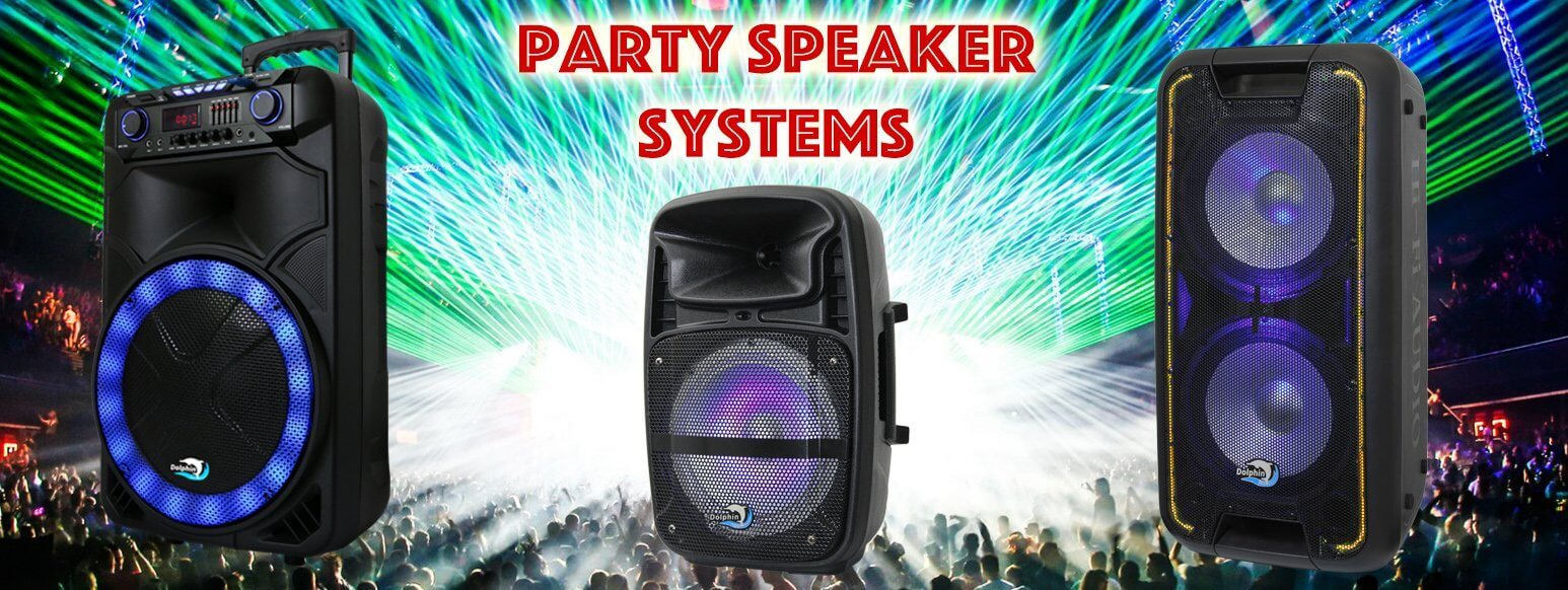 Party Speaker Systems