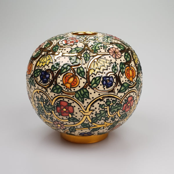 Dennis Chinaworks Textile sphere - uk-art-pottery-test-site