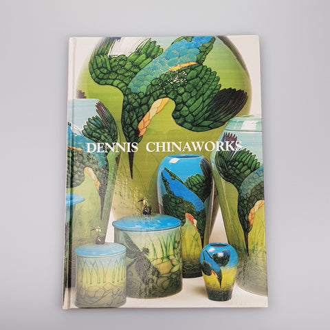 Dennis Chinaworks Hardback book by Paul Atterbury - uk-art-pottery-test-site