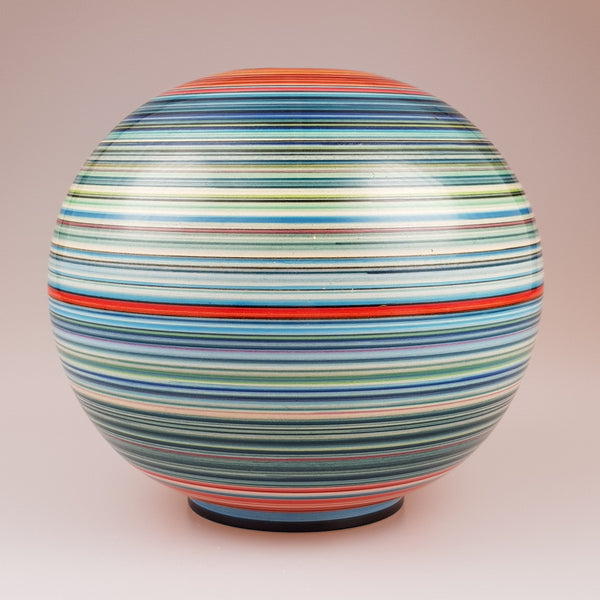 Dennis Chinaworks trial 7 inch Sphere designed by Buchan Dennis - uk-art-pottery-test-site