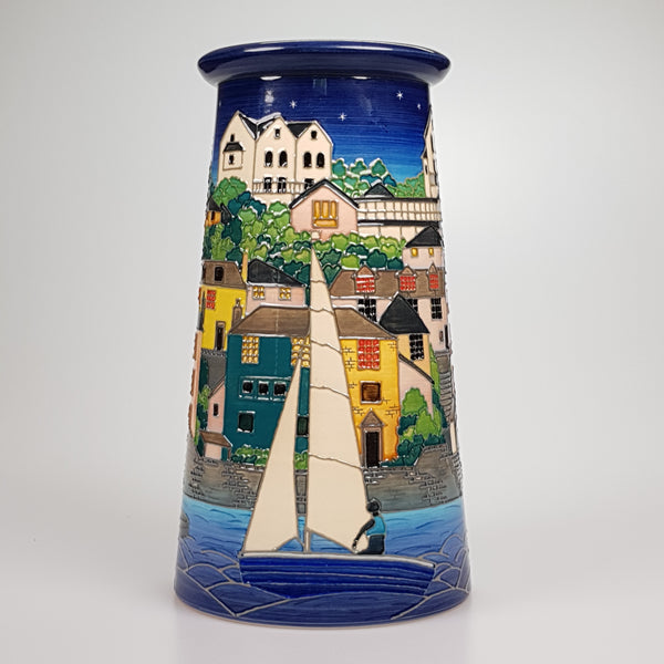 Dennis Chinaworks Salcombe  Night Large Conical Edition of 10 - uk-art-pottery-test-site