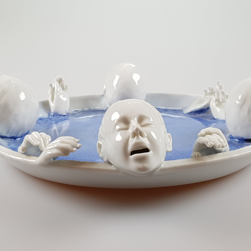 David Burnham Smith - Singing Not Drowning - uk-art-pottery-test-site