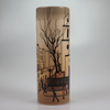 "Lowry ""St. Lukes Church"" Limited edition 12"" vase"