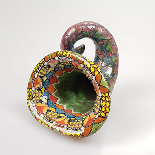 David Burnham Smith Horn - uk-art-pottery-test-site