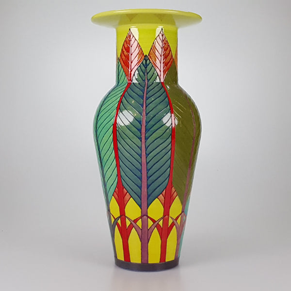 "Sally Tuffin 14"" Banana Tree vase"