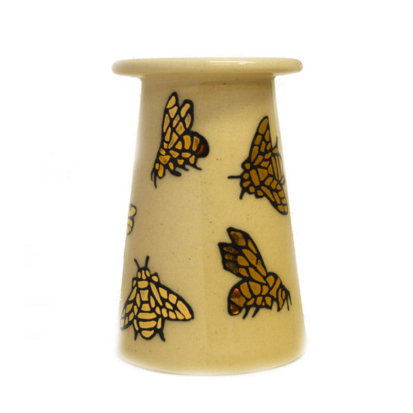 "Dennis Chinaworks Bee Lustre Conical 3"" - uk-art-pottery-test-site"