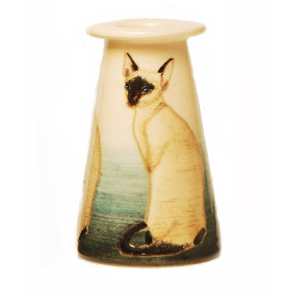 Dennis Chinaworks Cat Siamese Conical 3