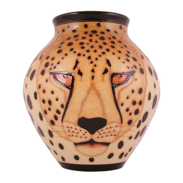 "Dennis Chinaworks Cheetah Standard Mr T 7.5"" - uk-art-pottery-test-site"