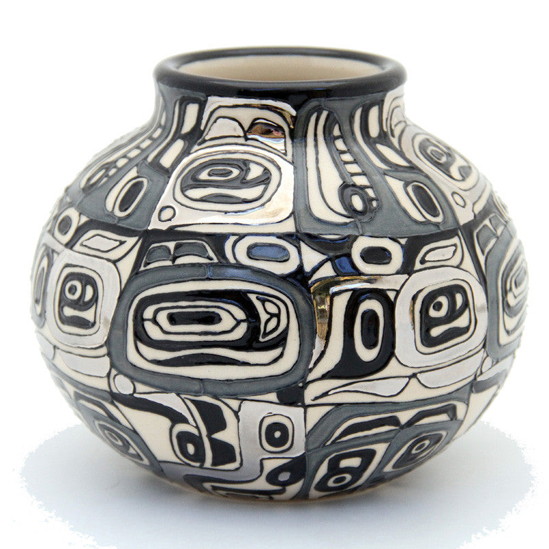 "Dennis Chinaworks Chilkat Monochrome Mexican Baluster 5"" - uk-art-pottery-test-site"