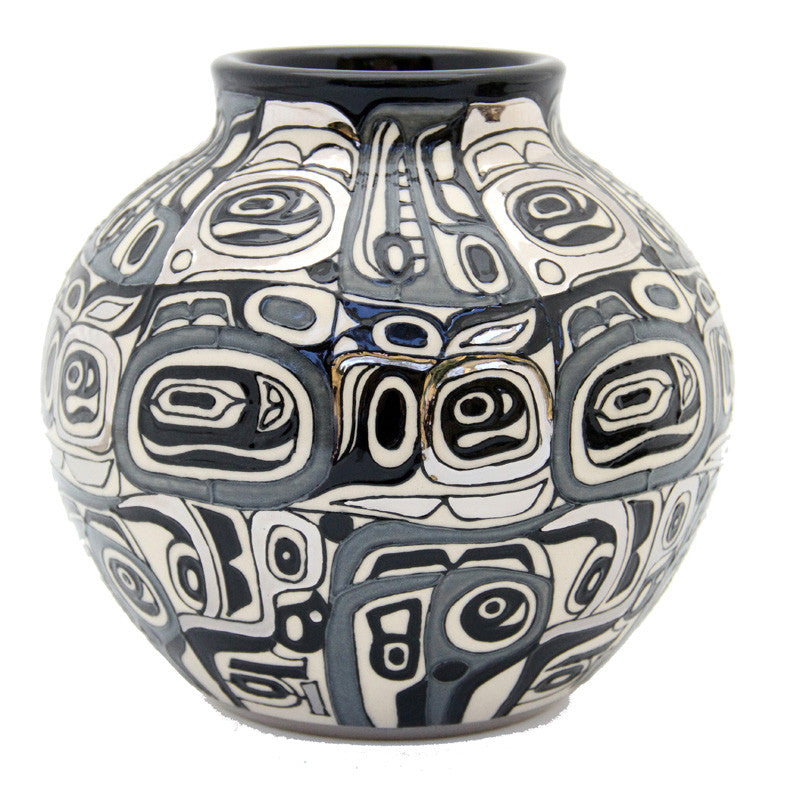 "Dennis Chinaworks Chilkat Monochrome Mexican Baluster 7"" - uk-art-pottery-test-site"