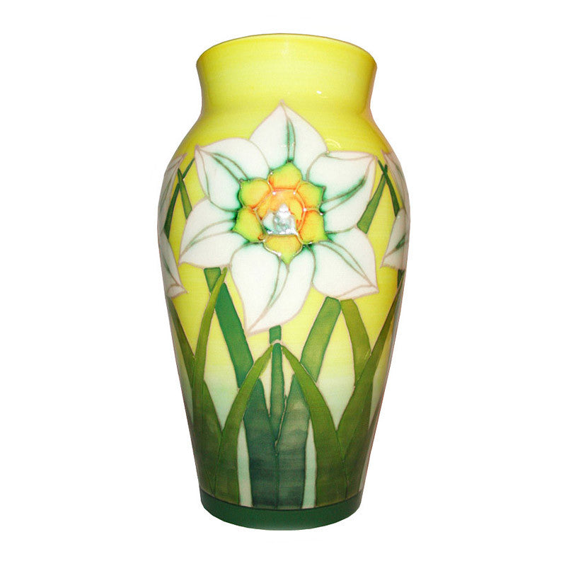 Dennis Chinaworks Daffodil on White Baluster 8