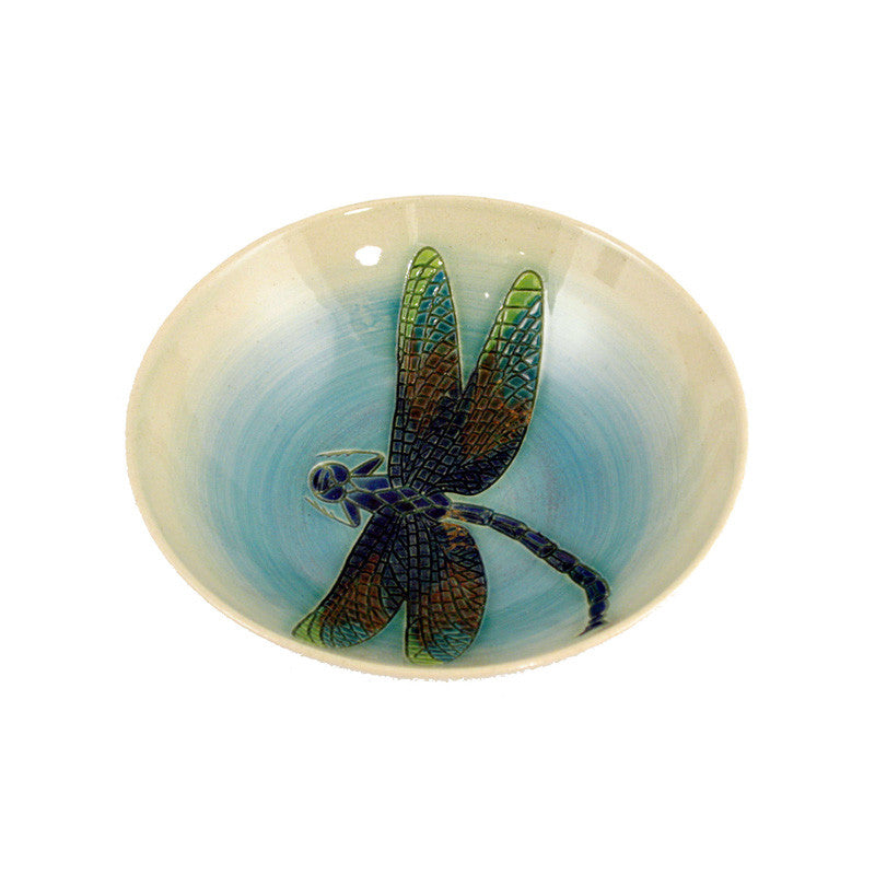 Dennis Chinaworks Dragonfly Natural Bowl 6