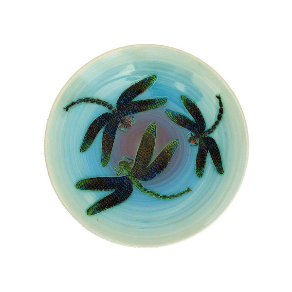 Dennis Chinaworks Dragonfly Natural Plate 10