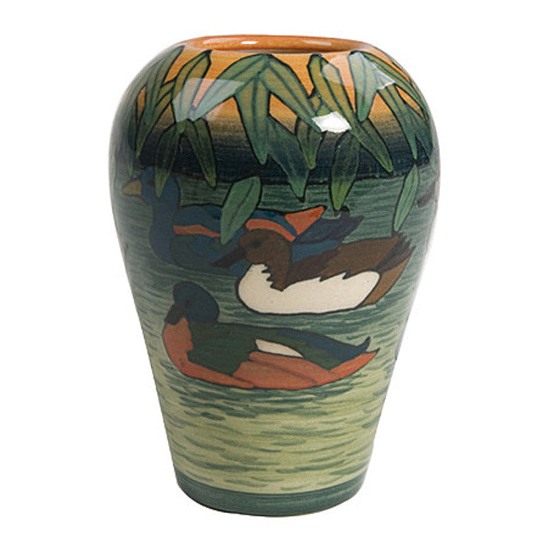 "Dennis Chinaworks Duck Pond Standard Ovoid 3.5"" - uk-art-pottery-test-site"