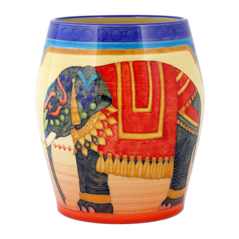 Dennis Chinaworks Elephant Indian Arch Barrel 8
