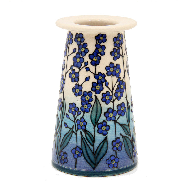 Dennis Chinaworks Forget-me-not Blue on white Conical 5