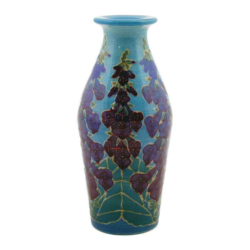 "Dennis Chinaworks Foxglove Standard Bottle 4.75"" - uk-art-pottery-test-site"