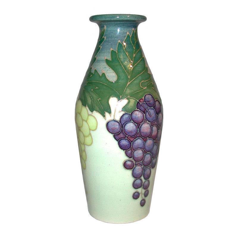"Dennis Chinaworks Grapes Collectors day Bottle 4.75"" - uk-art-pottery-test-site"