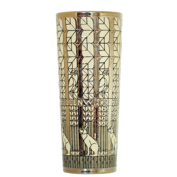 Dennis Chinaworks Holden Wood tall cylinder vase - uk-art-pottery-test-site