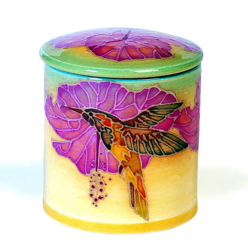 Dennis Chinaworks Humming Birds Collect it Lidded Box 3.75