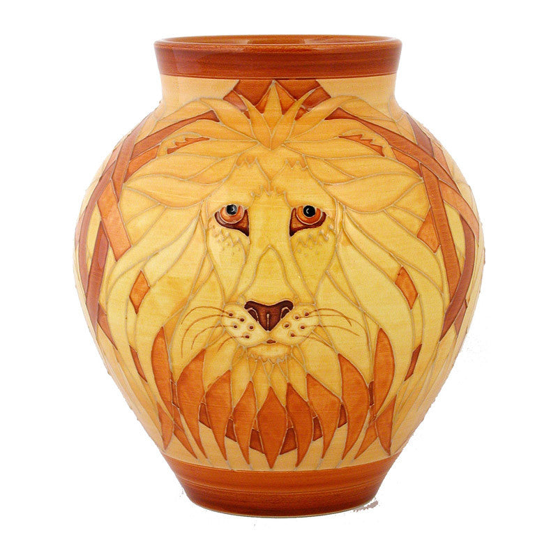 "Dennis Chinaworks Lion Natural Mr T 8.5"" - uk-art-pottery-test-site"