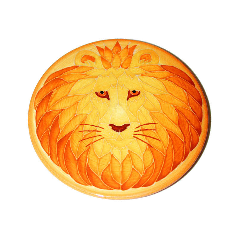 Dennis Chinaworks Lion Natural Roundel 6