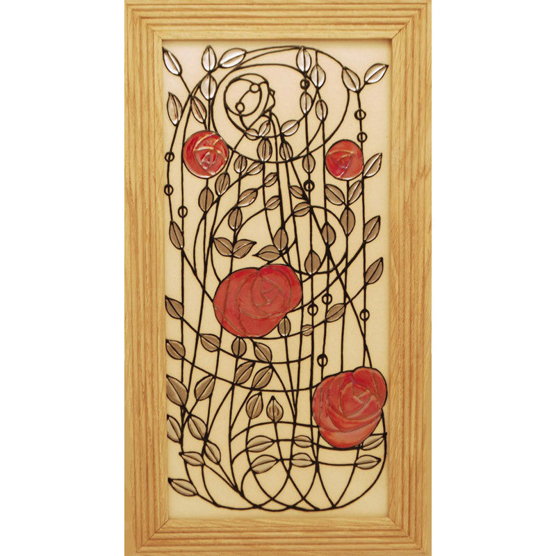 Dennis Chinaworks Rose Lines Tile 14