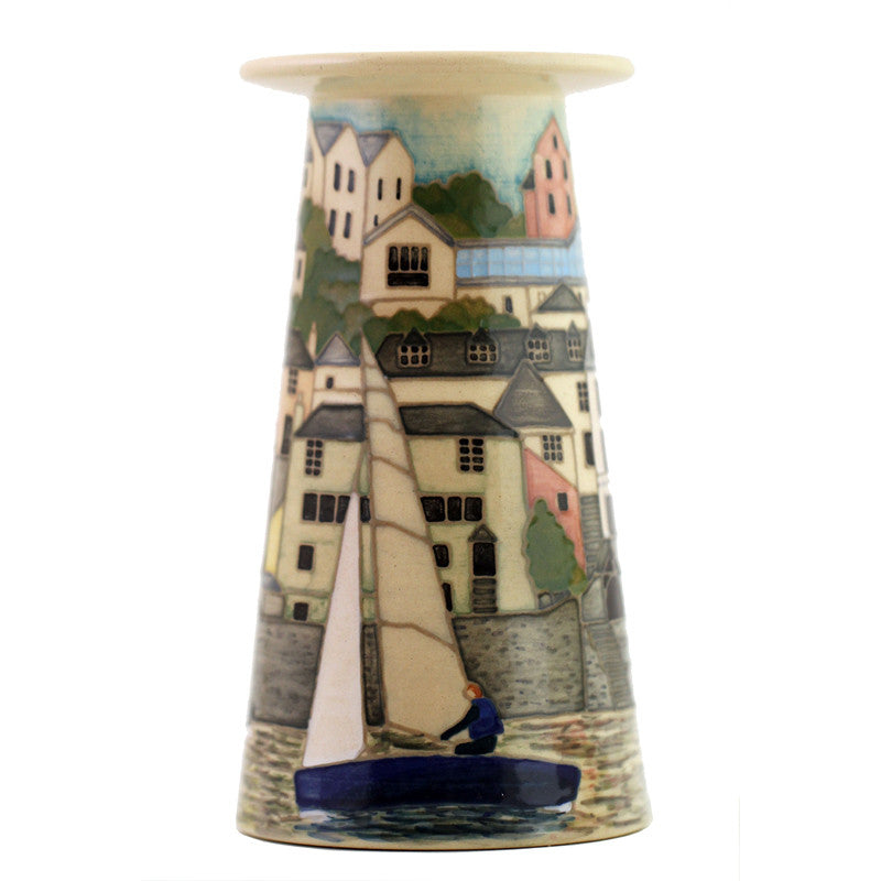 Dennis Chinaworks Salcombe Small Conical vase edition of 15