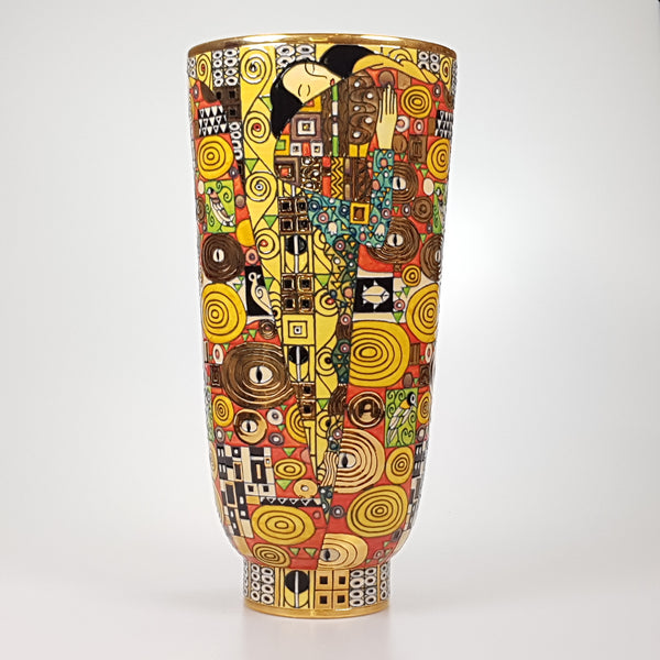 Dennis Chinaworks Sally Tuffin Extra Large Deco Klimt Embrace - uk-art-pottery-test-site