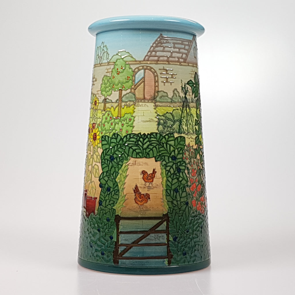 Dennis Chinaworks Kitchen Garden vase designed by Sally Tuffin