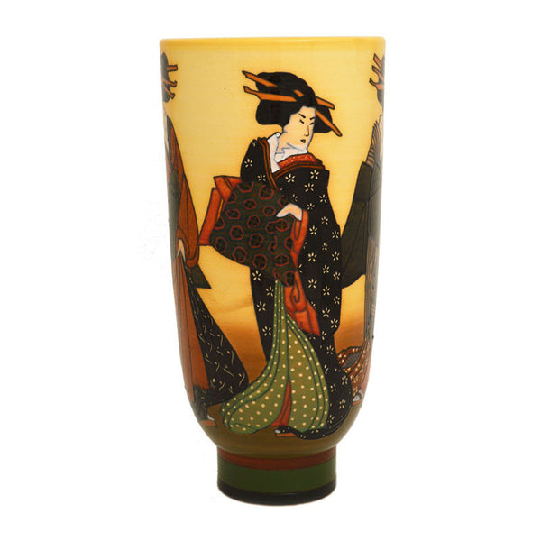 Dennis Chinaworks Sally Tuffin Autumn Geisha - uk-art-pottery-test-site