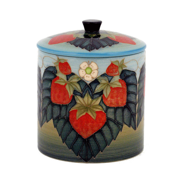 Dennis Chinaworks Strawberry Natural Lidded Box 6