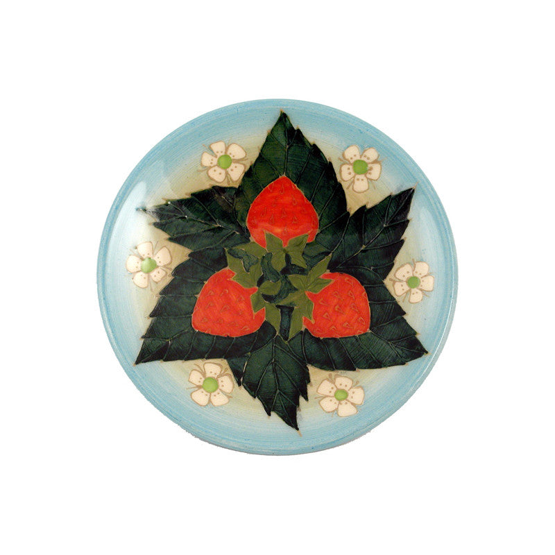 Dennis Chinaworks Strawberry Natural Roundel 6