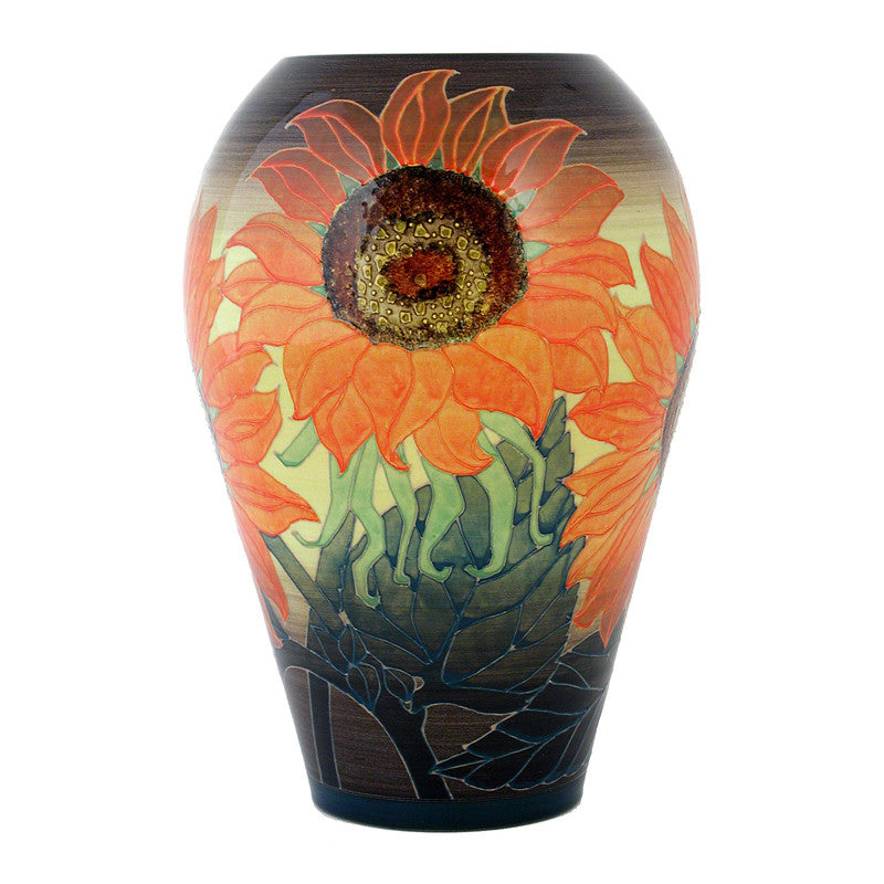 Dennis Chinaworks Sunflower Orange Ovoid 10