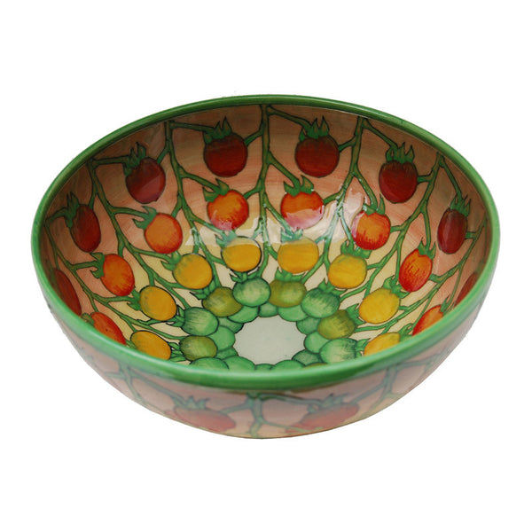 Dennis Chinaworks Tomatoes Green Bowl 8