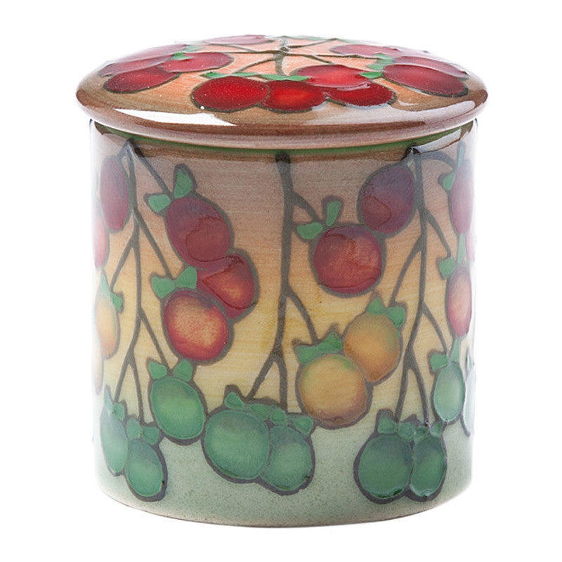Dennis Chinaworks Tomatoes Green Lidded Box 2.5