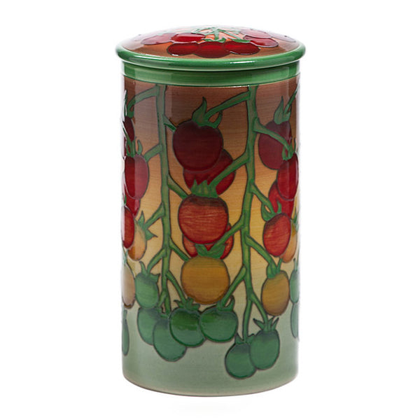 Dennis Chinaworks Tomatoes Green Lidded Box 8