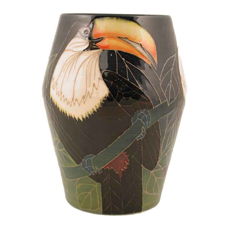 "Dennis Chinaworks Toucan Natural Barrel 6"" - uk-art-pottery-test-site"