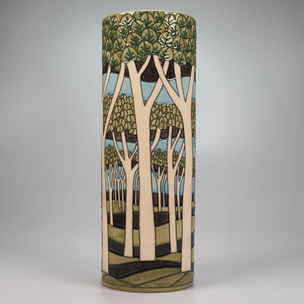 Umbrella Pines vase designed by Sally Tuffin for the Dennis Chinaworks